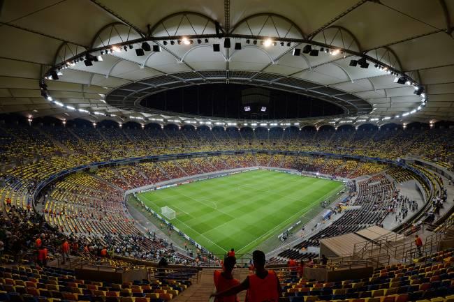 A Arena Nationala, na Romênia -