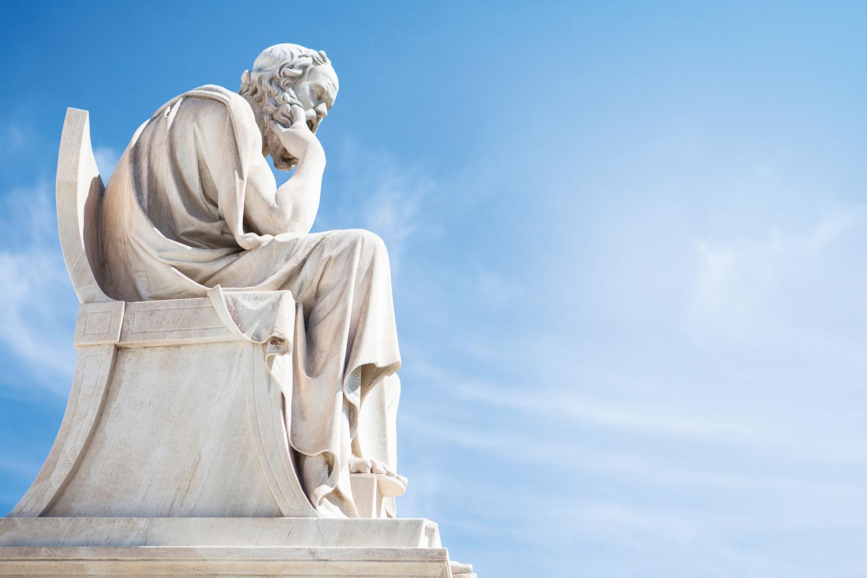 """""""Só sei que nada sei."""" - Sócrates (469 A.C.-399 a.C.) -"""