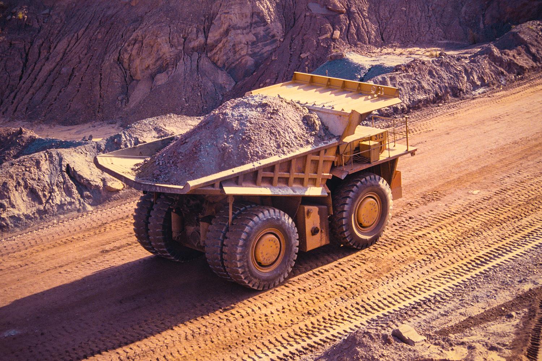 Extração de Minérios