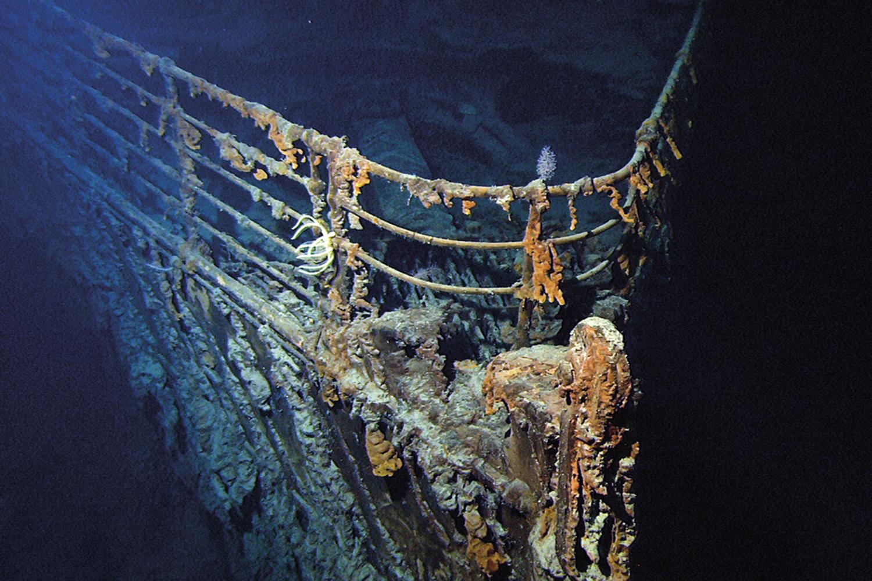 LEGADO -A proa ainda visível do navio: tragédia na viagem inaugural, em 1912 -
