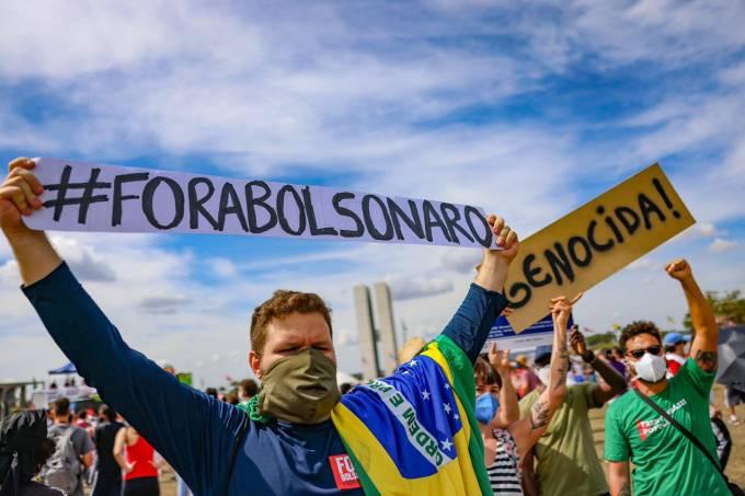 Protesto Brasília