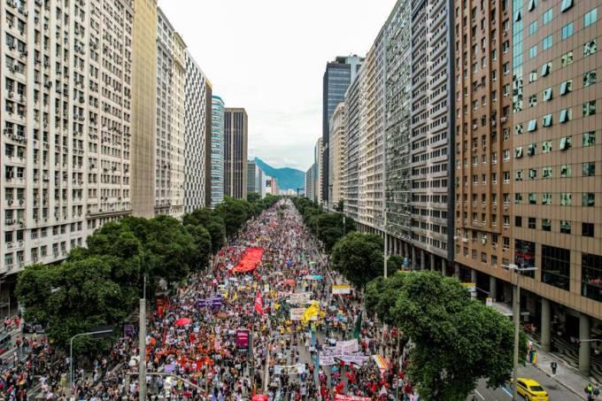 Protesto Rio 1