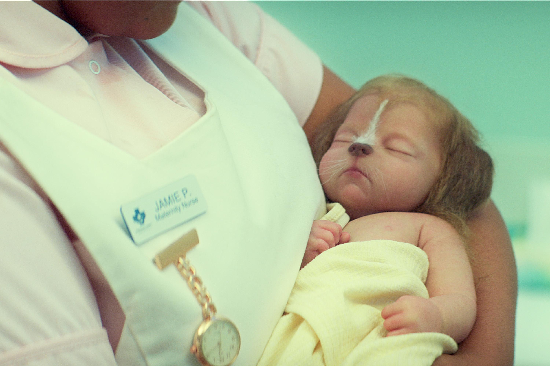 Bebês híbridos em 'Sweet Tooth': fantoches elaborados -