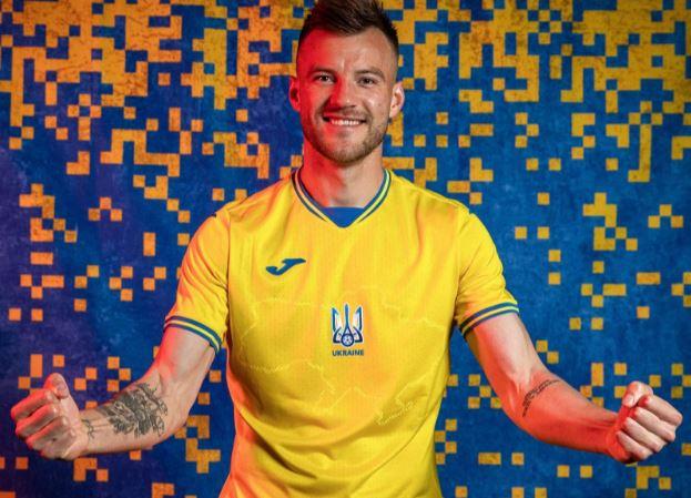 Novo uniforme da Ucrânia para a Eurocopa