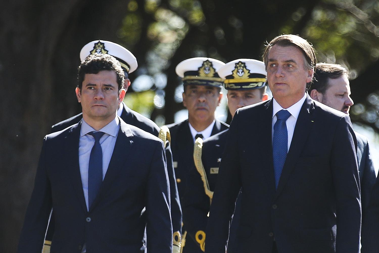 INIMIGO 1 -Com Bolsonaro: ele deixou o ministério após divergir do chefe -