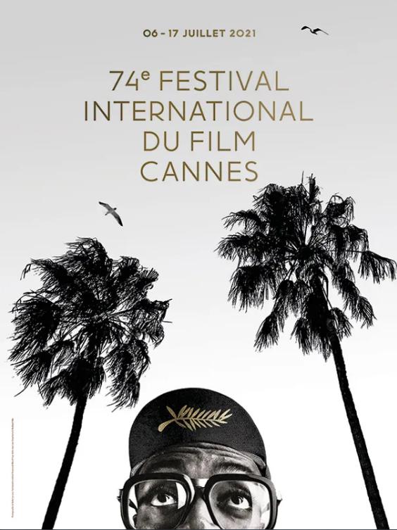 Spike Lee no cartaz da 74ª edição do Festival de Cannes -