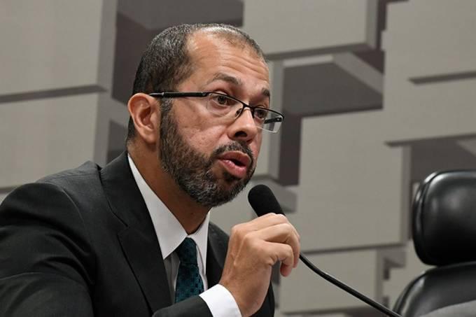 O superintendente-geral do Cade, Alexandre Cordeiro Macedo, em sabatina no Senado em 2019