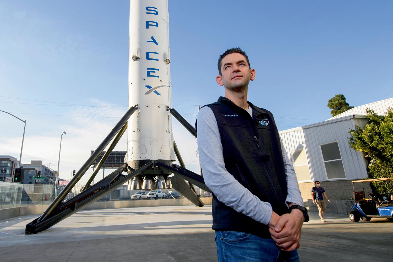 NA FILA -Jared Isaacman: voo orbital de três dias pela SpaceX -