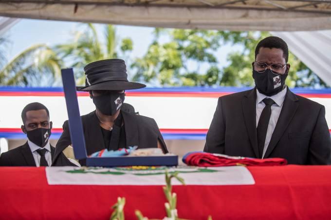 Haiti-POLITICS-MOÏSE-FUNERAL
