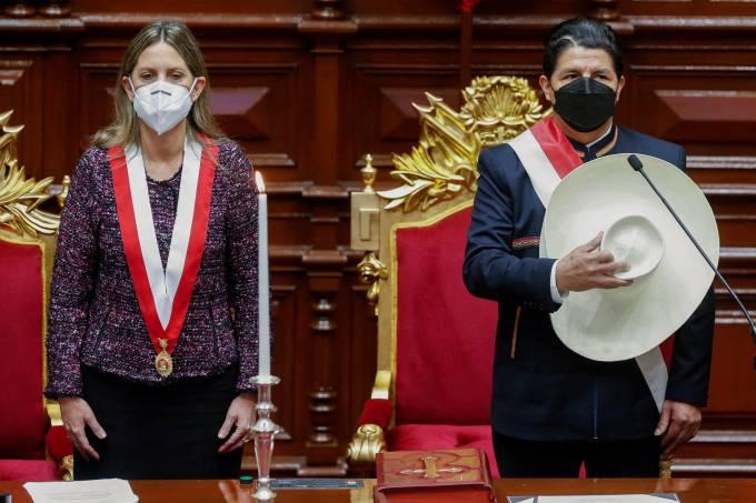 PERU-POLITICS-INAUGURATION-CASTILLO
