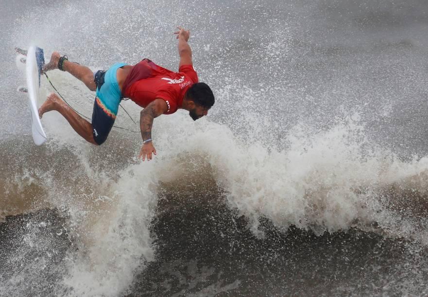 O surfista brasileiro Ítalo Ferreira -