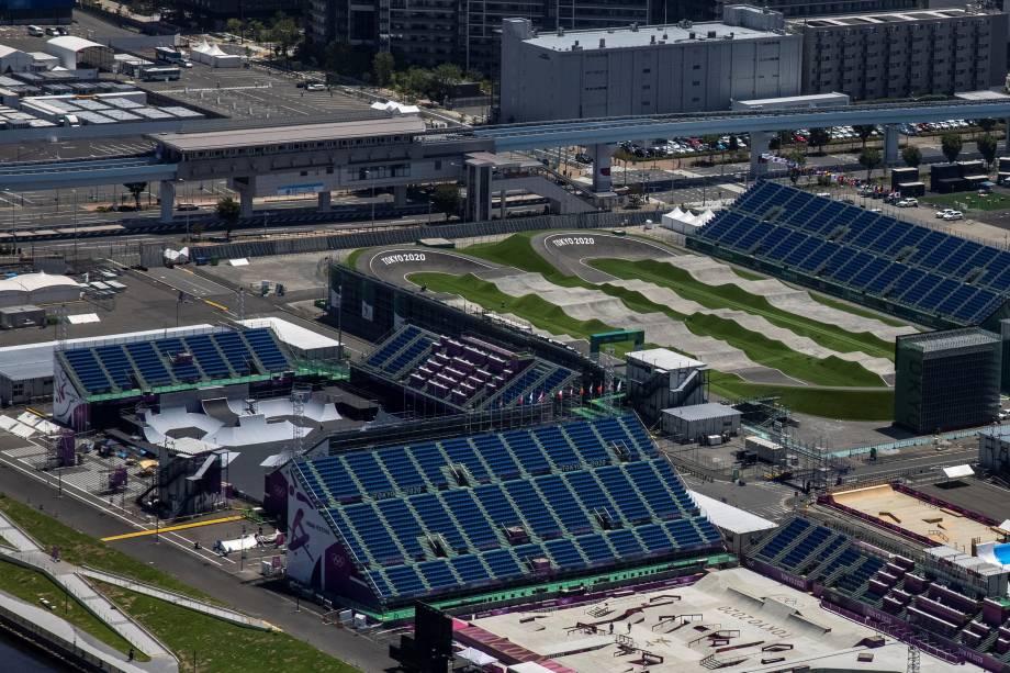 Ariake Urban Sports Park, local para as provas de skate e BMX -