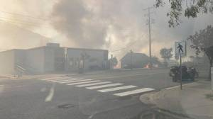 Cidade de Lytton, no Canadá, é devorada por incêndios