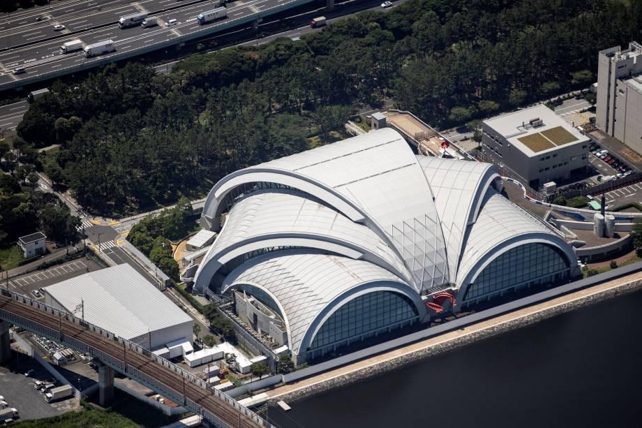Tatsumi Water Polo Center, local para pólo aquático nas Olímpiadas -