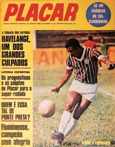 Edição da PLACAR de agosto de 1970 -