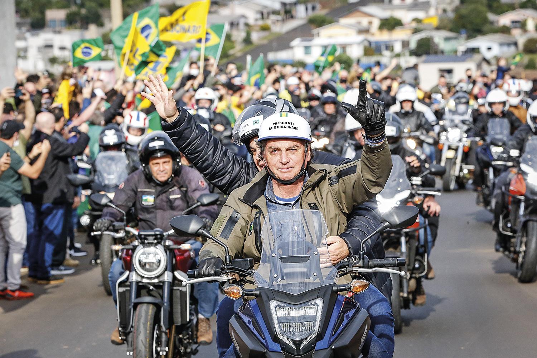 SOBRE RODAS -Motociata em SC: reação à ofensiva da oposição nas ruas -