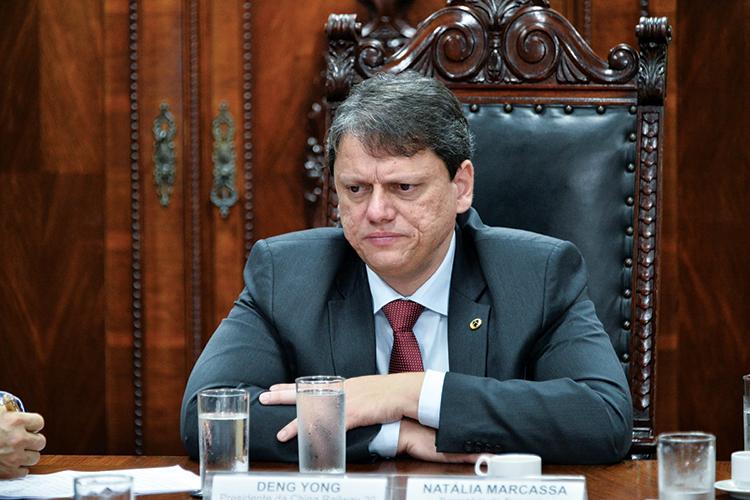 PRESSÃO -Freitas, ministro da Infraestrutura: pedido de verbas para projetos -
