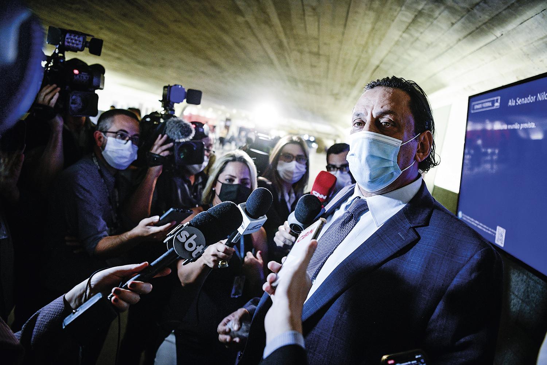 CONFUSÃO -Wassef, advogado da família do presidente: tentativa de entrar na CPI -