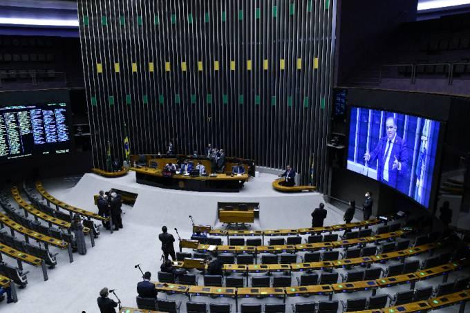 Sessão no Congresso que votou o projeto da Lei de Diretrizes Orçamentárias (LDO) – 15/07/2021 –