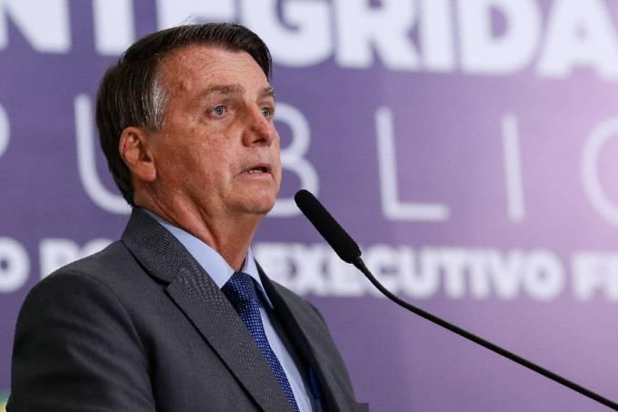 O presidente Jair Bolsonaro –