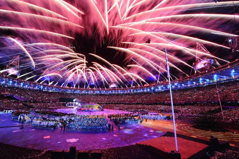 Cerimônia de Abertura dos Jogos Olímpicos de Londres, em 2012 -