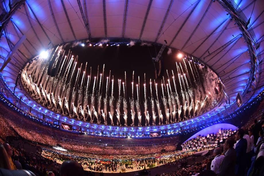 Cerimônia de Abertura dos Jogos Olímpicos do Rio de Janeiro, em 2016 -