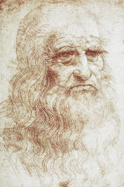 TRAÇO -Retrato de Turim: o ancião pode não ser ele, mas a técnica é puro Da Vinci -