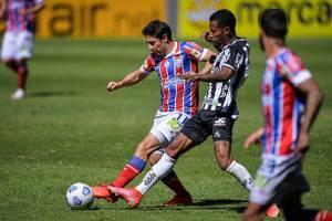 Atlético Mineiro e Bahia no Mineirao