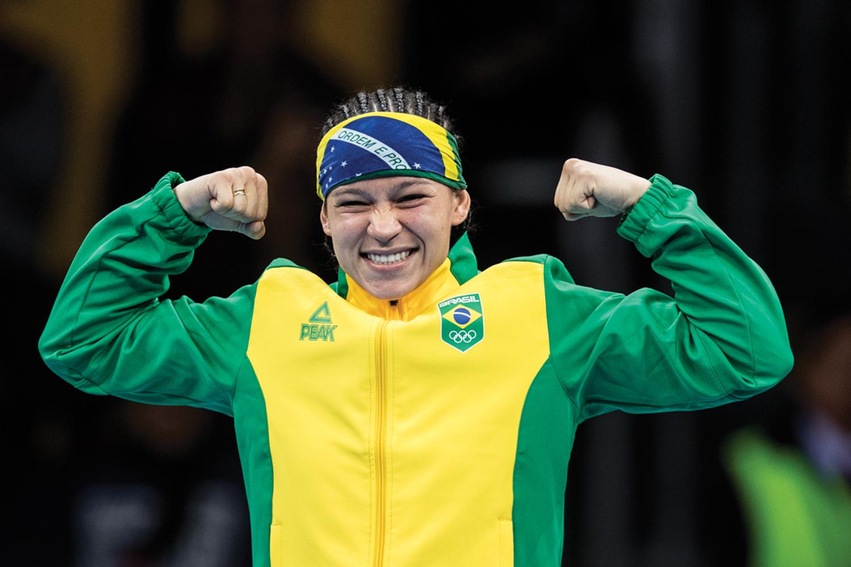 """FAVORITA -Beatriz Ferreira, a número 1 do boxe: """"Sei aonde quero chegar"""" -"""