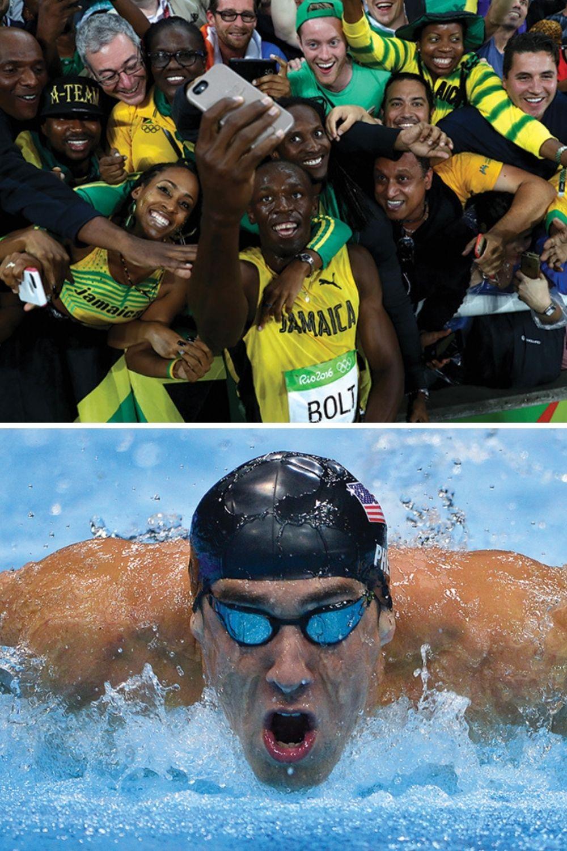 GÊNIOS APOSENTADOS -Phelps e Bolt: pela primeira vez desde 2004, o pódio olímpico não receberá duas das maiores lendas da história do esporte -