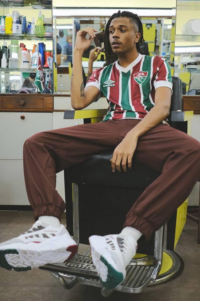 Modelos vintage da camisa do Fluminense -