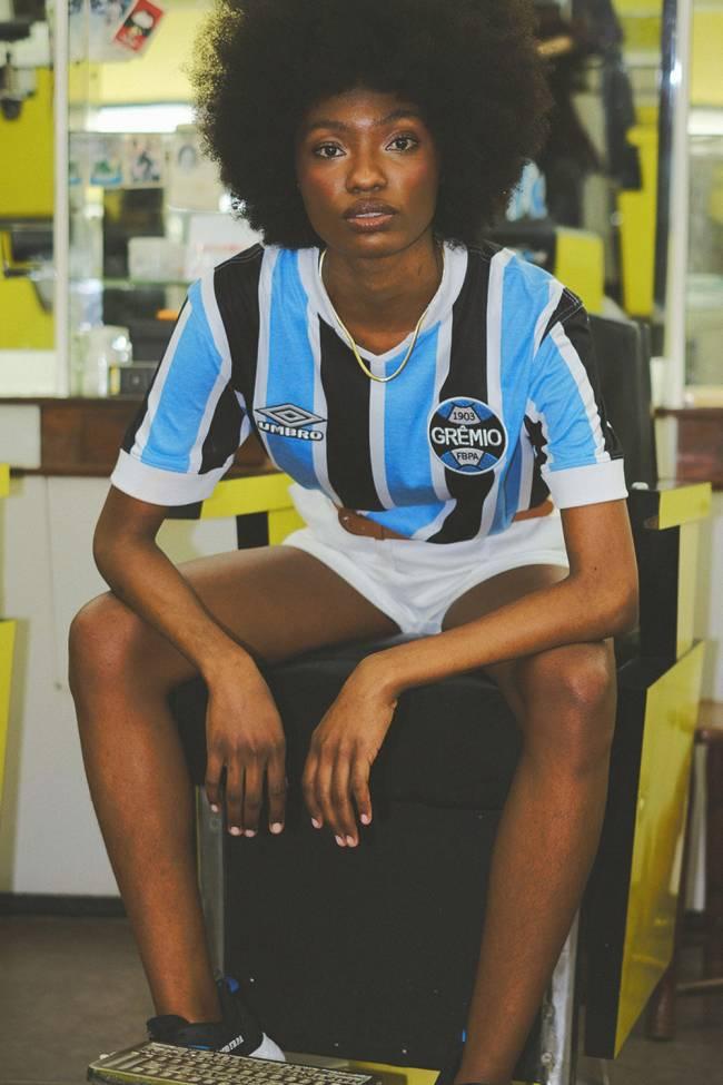 Modelos vintage da camisa do Grêmio -