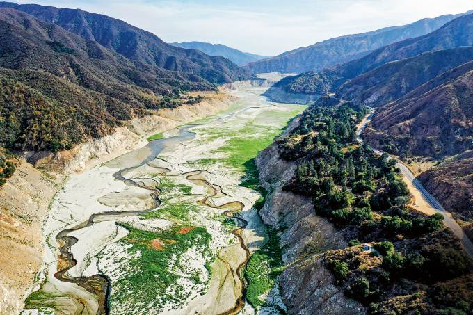 San Gabriel Reservoir Almost Dry As California Faces Worsening Drought