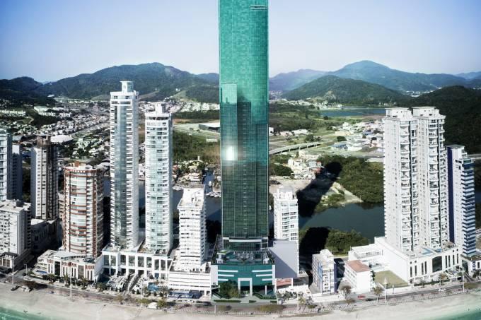 Em 2022 a FG inaugura o One Tower, 290 metros de altura, 84 pavimentos sendo 70 habitáveis, que será o maior da América Latina