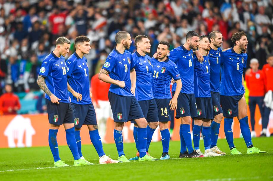 Penalty                    ; July 11; 2021 - Football : UEFA European Championship 2020; Final ; final match between  Italy  4-3 (d.c.r.)England  atWembley Stadium ; London , England;;( photo by aicfoto)(ITALY) [0855]