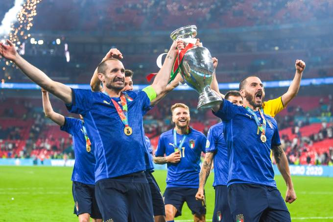 Soccer: UEFA European Championship 2020: Italy 4-3 (d.c.r) England
