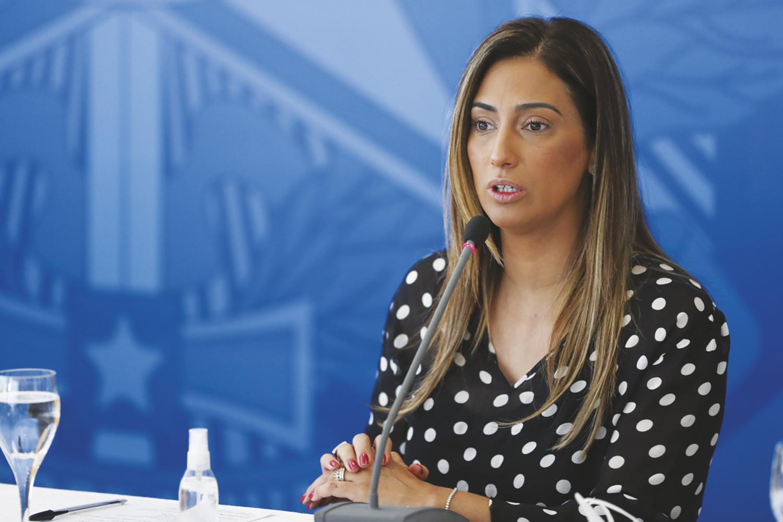 AGRADO -Flávia Arruda: nomeação para melhorar relações com o Congresso -