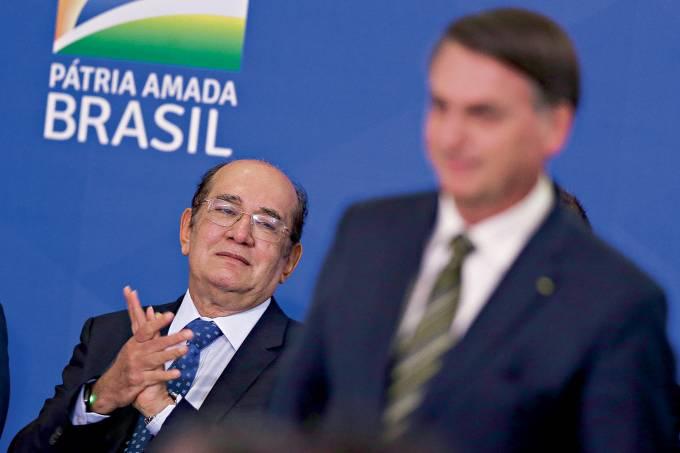 Cerimônia de posse de André Luiz Mendonça como novo ministro da Justiça