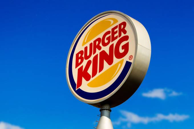 Burger King logo seen at one of its stores in Dourados, Mato