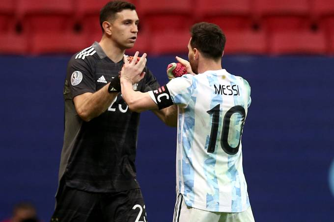 Argentina v Colombia: Semifinal – Copa America Brazil 2021