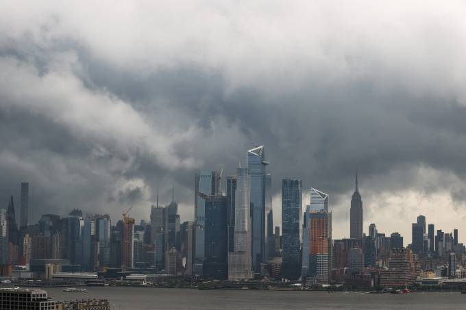 Stormy weather in New York