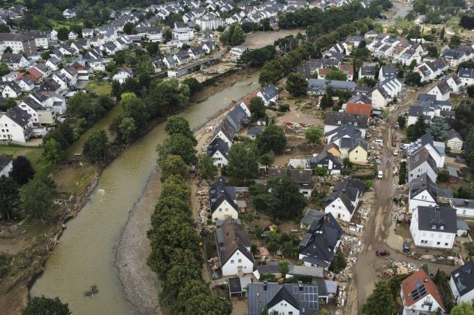 The death toll rises to 164 after the floods in Germany