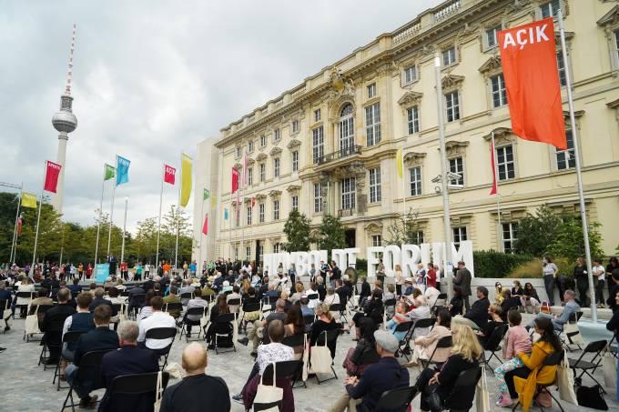 Ceremonial opening of the Humboldt Forum