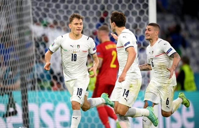 Nicolo Barella marcou o gol que colocou os italianos na semifinal da Euro -