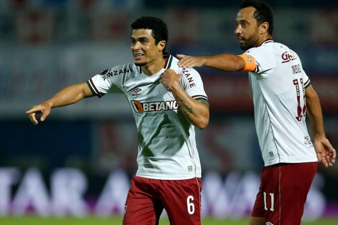 Egidio e Nenê marcaram os gols do Fluminense em Assunção