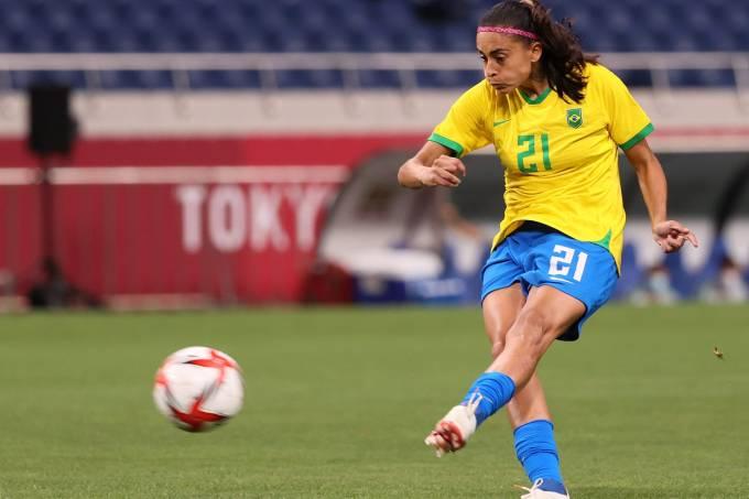 Brazil v Zambia: Women's Football – Olympics: Day 4