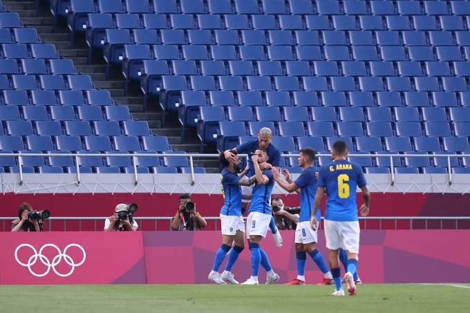 Saudi Arabia v Brazil: Men's Football – Olympics: Day 5
