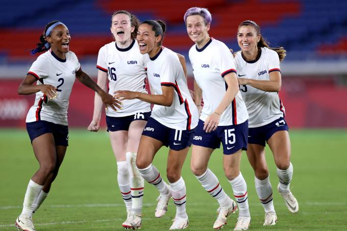 Netherlands v United States: Women's Football Quarterfinal – Olympics: Day 7