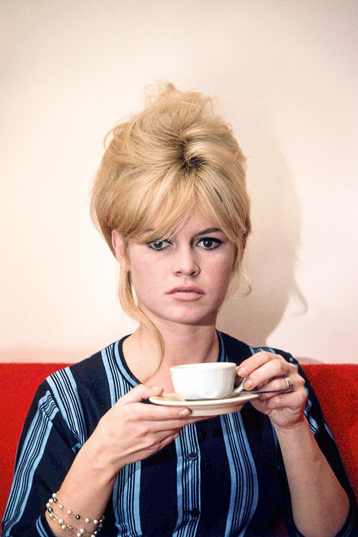 QUE VINHO, QUE NADA -Brigitte Bardot: a atriz francesa sempre teve especial apreço pelo consumo diário -
