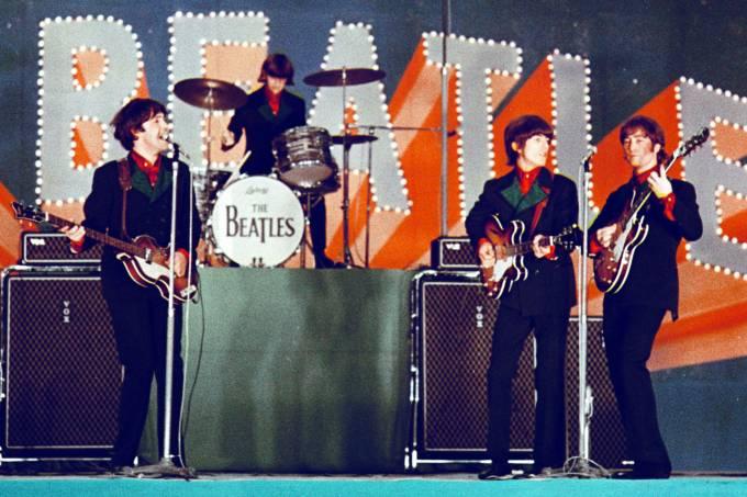 Beatles in Japan in 1966